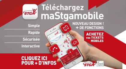 Téléchargez la nouvelle version de maStgamobile !