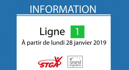 Information Ligne 1