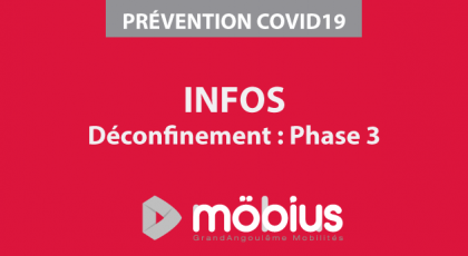 ORGANISATION DE VOTRE RÉSEAU MÖBIUS - COVID 19 - Phase 3 déconfinement