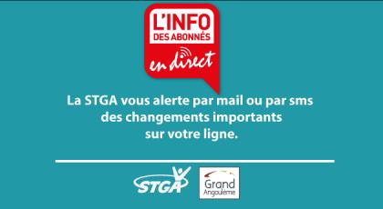 L'info de la STGA en direct : SMS@ctu et MAIL@ctu
