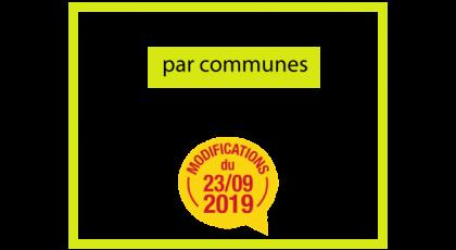 Adaptations du réseau möbius au 23/09/2019