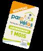 Parc vélo - 1 mois